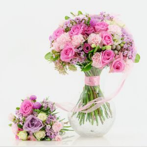 Pink Mom & Baby Bouquet