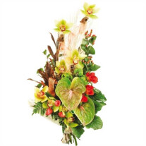 Anthurium bouquet