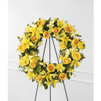 The FTD Ring of Friendship Wreath